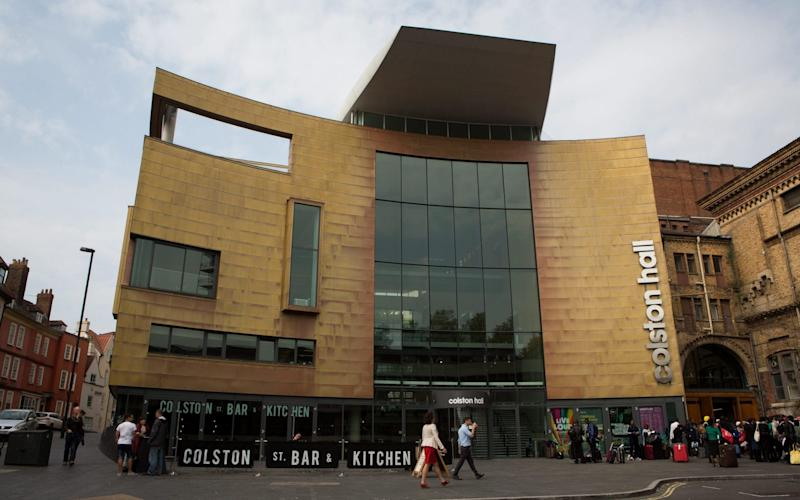 Colston Hall will be renamed to ditch its 'toxic' legacy - SWNS.com