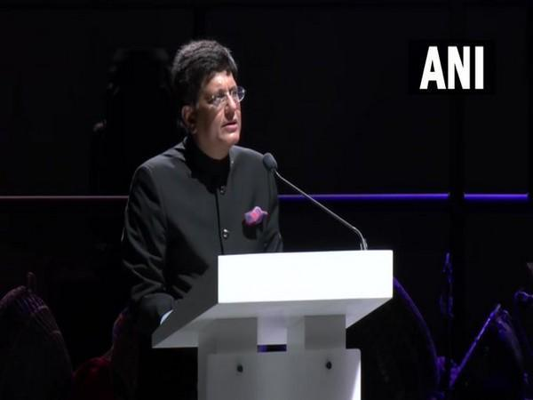 Union Commerce and Industry Minister Piyush Goyal at Expo 2020 Dubai