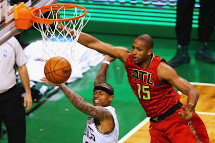 Al Horford's inside presence moves to the Celtics. (Getty Images)