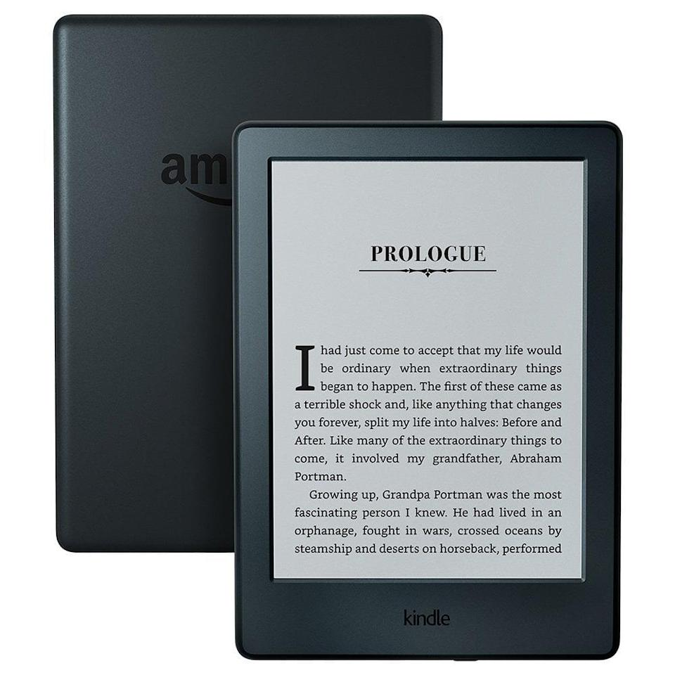 <p>This is the original great e-reader. With access to basically every book Amazon offers, the <span>Kindle Paperwhite E-reader</span> ($130) is so light, adjusts to whatever kind of light you're reading in, and will change the way you travel. No more lugging heavy books through the airport!</p>