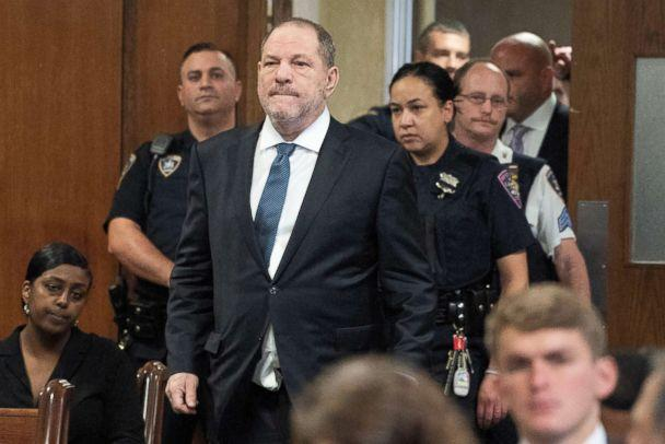 PHOTO: Film producer Harvey Weinstein arrives at Manhattan Criminal Court for his hearing in N.Y., Oct. 11, 2018. (Steven Hirsch/Pool via Reuters)