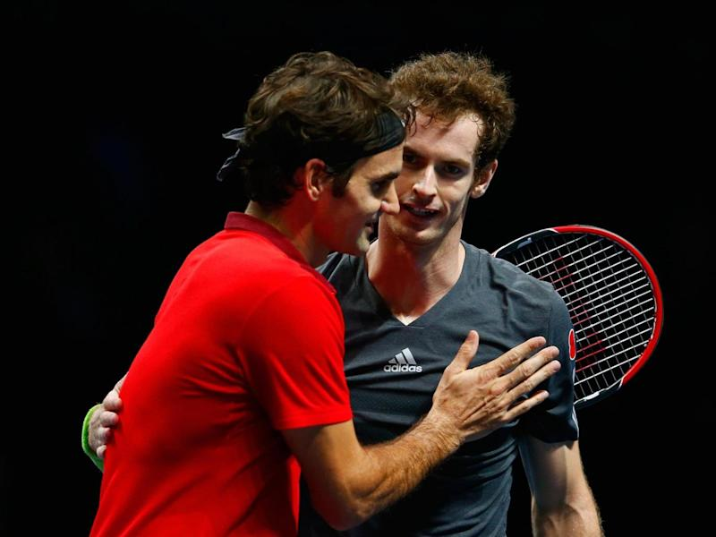 The duo will raise money for the Roger Federer Foundation (Getty)