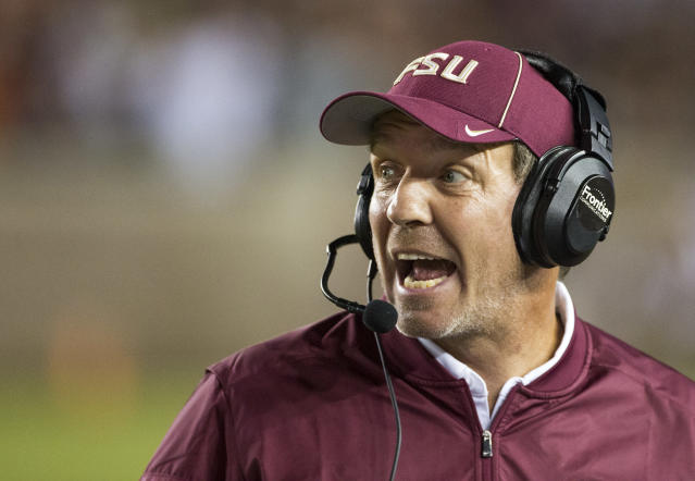 Jimbo Fisher will probably be buying a new Christmas tree. (AP Photo)