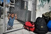 Samos residents have spent years demanding all migrants be relocated to the mainland (AFP/LOUISA GOULIAMAKI)