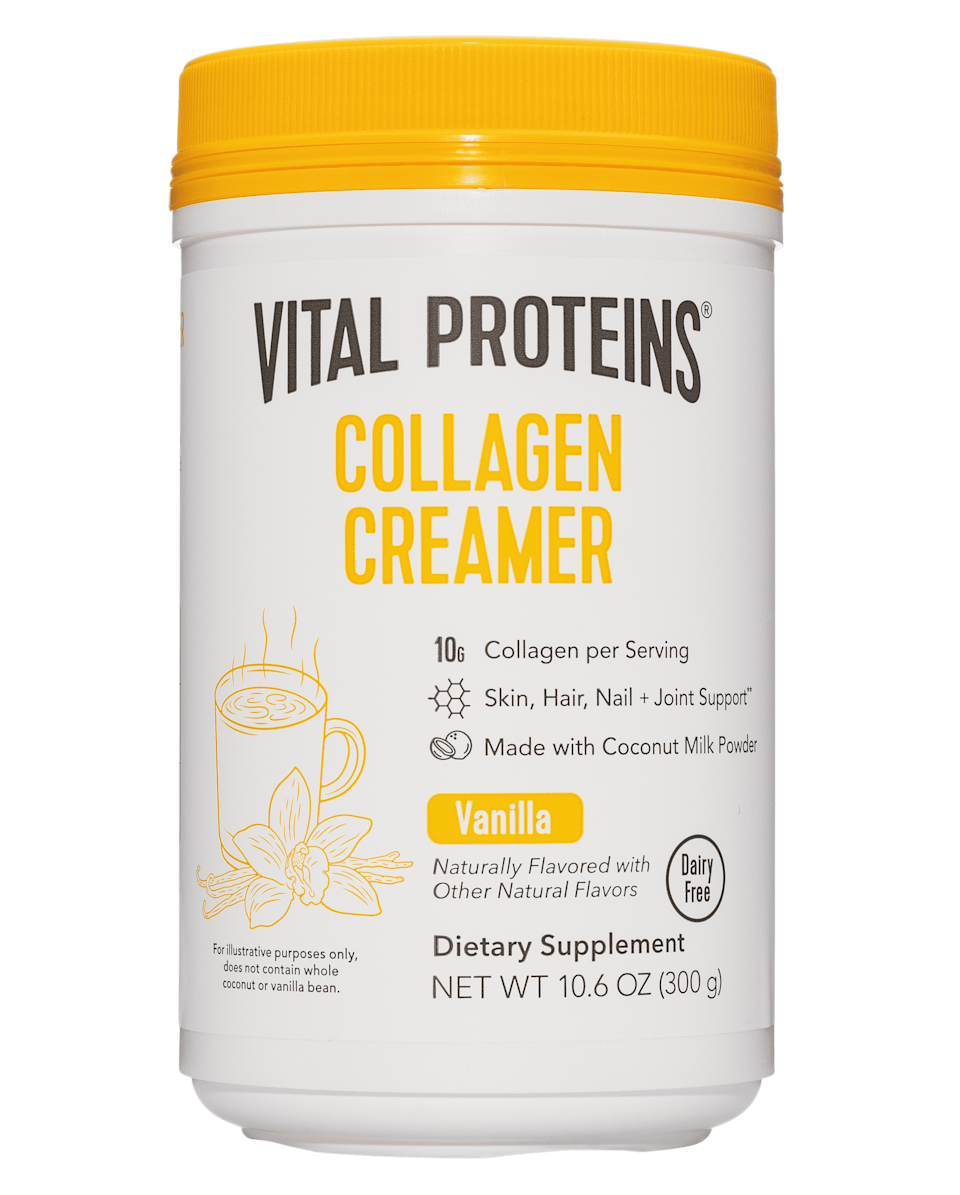 <p>This <span>Vital Proteins Collagen Creamer Vanilla Dietary Supplement</span> ($29) adds a boost of protein and energy to coffee. Sign us up!</p>