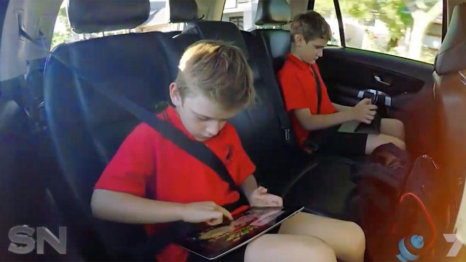 Research suggests the average child spends more than six hours on screens each day.