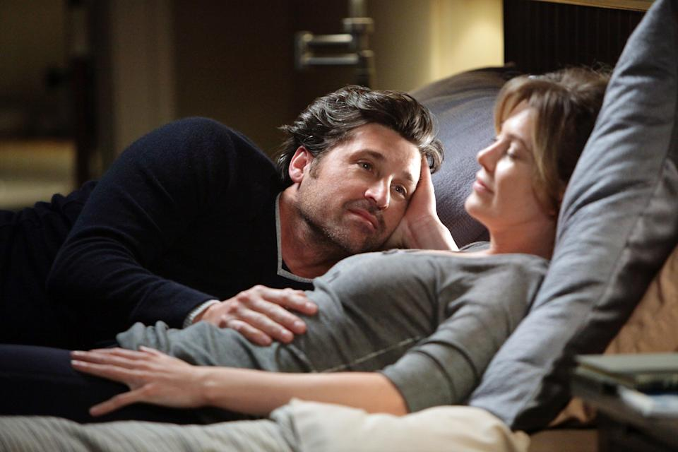 Patrick Dempsey and Ellen Pompeo star in a 2010 episode of