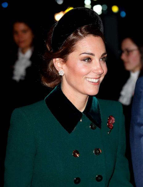PHOTO: Catherine, Duchess of Cambridge attends a service to mark the centenary of the Armistice at Westminster Abbey on in London, Nov. 11, 2018. (Indigo via Getty Images, FILE)