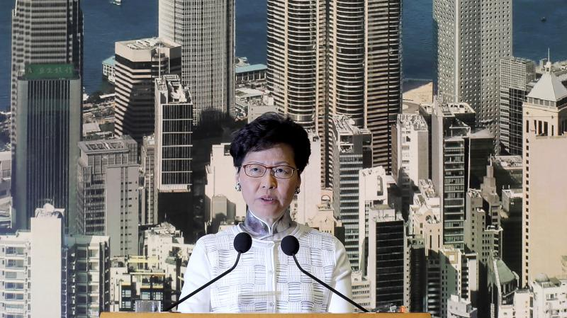 Hong Kong protests: leader Carrie Lam apologises for extradition bill