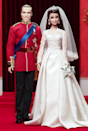 "<div class=""caption-credit""> Photo by: barbiecollector.com</div><b>William and Catherine Royal Wedding doll set, released in 2012 for $100</b> <br> The Duke and Duchess of Cambridge done in plastic. William's got Ken's awful hair but Kate's slightly heavy eye makeup looks just right."