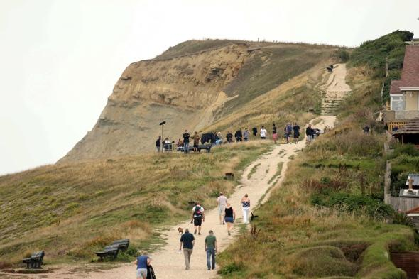 Broadchurch beach blighted by doggers