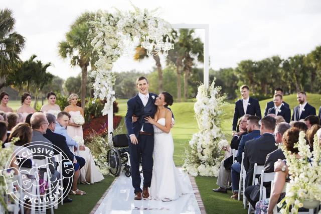 Chris Norton married Emily Summers on April 21 in Jupiter, Florida. (via People)