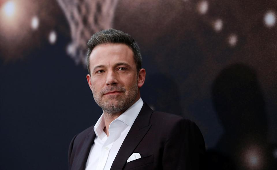 """Cast member Affleck poses at the premiere for the film """"The Way Back"""" in Los Angeles"""