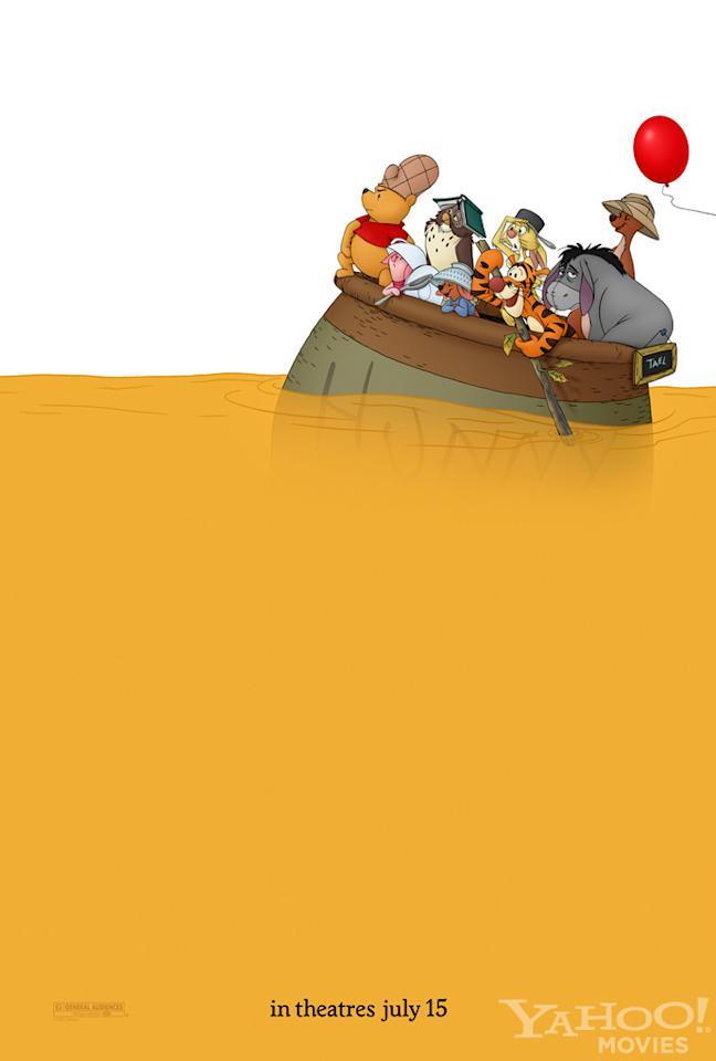 """The Best:  <a href=""""http://movies.yahoo.com/summer-movies/winnie-the-pooh/1810170341"""">WINNIE THE POOH</a>    All of A.A. Milne's iconic characters are back on this wordless teaser -- no title needed -- and it looks like they've gotten themselves into some deep trouble."""
