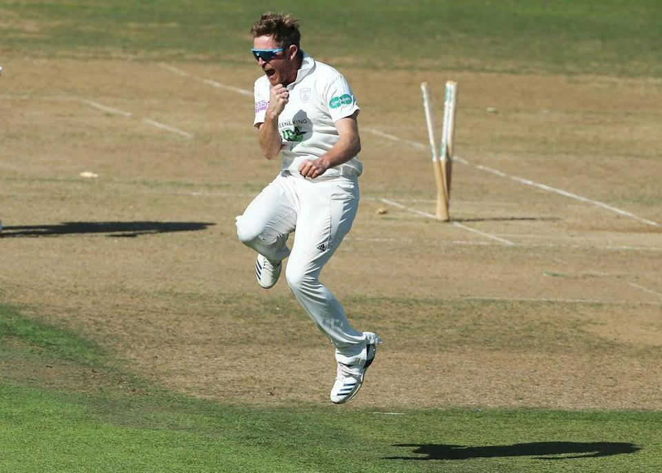 Liam Dawson finished with five for 45 on a dramatic day in Southampton (Mark Kerton/PA) (PA Archive)