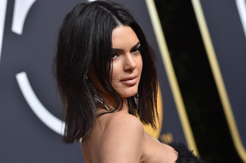 Kendall Jenner was skin-shamed at the BAFTAs earlier this year [Photo: Getty]