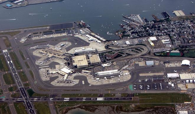 The researcher was stopped at Logan Airport in Boston. Photo: Wikipedia