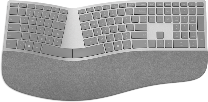 Ergonomic keyboard, such as a few offered by Microsoft, could help reduce wrist strain as they are curved to naturally fit the natural resting angle of your wrists on a desk (tilted inward), and often with a split keyboard, too.