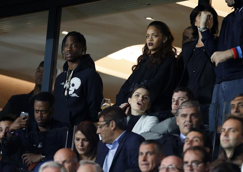 And just the day before, the pair took in the French Ligue 1 match between Paris Saint-Germain FC and Olympique de Marseille at Parc des Princes stadium.