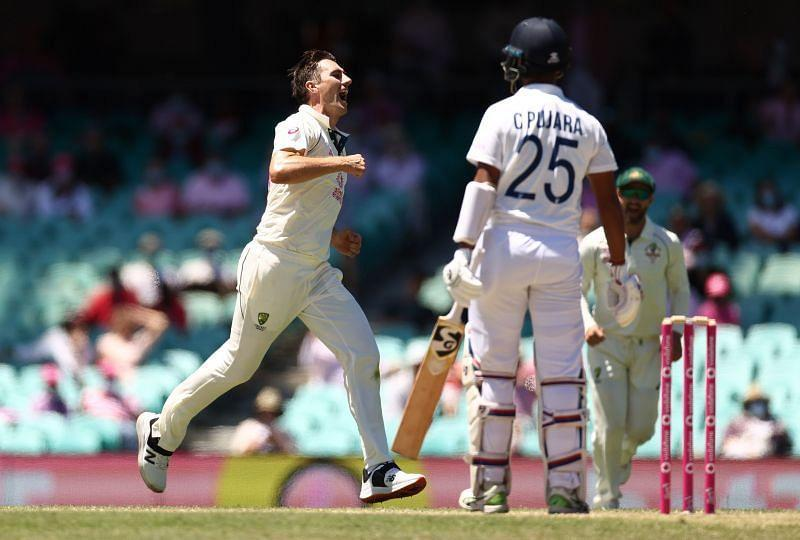 Pat Cummins dismissed Cheteshwar Pujara for the fourth time in the ongoing series.