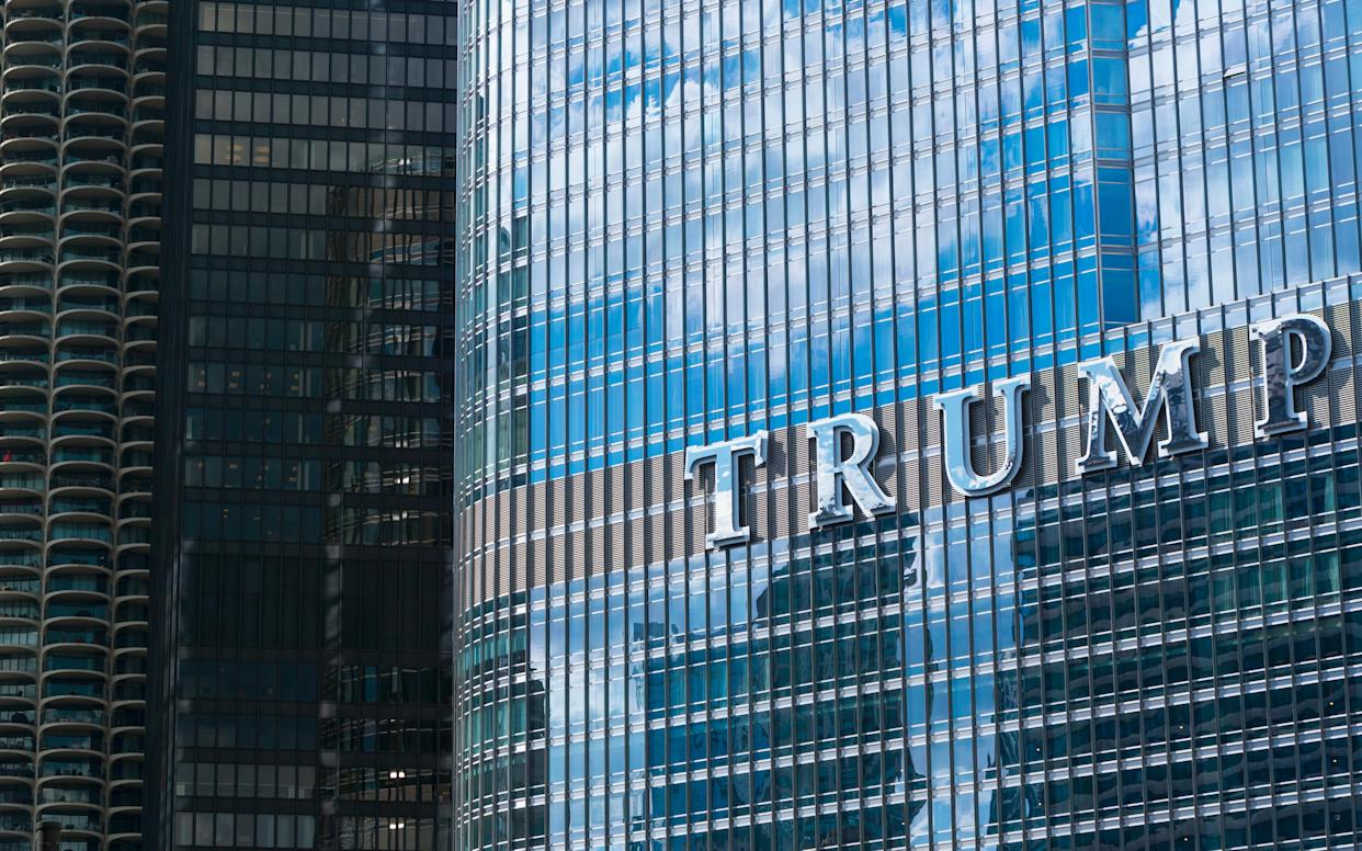 Trump's Chicago hotel - This content is subject to copyright.