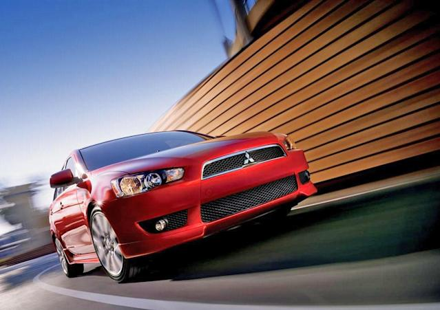 """<b>Worst Compact Sedan - <a href=""""http://autos.yahoo.com/mitsubishi/lancer/"""" data-ylk=""""slk:2014 Mitsubishi Lancer"""" class=""""link rapid-noclick-resp"""">2014 Mitsubishi Lancer</a></b>: With Toyota's recent radical overhaul of its best-selling but thoroughly crummy Corolla, the Mitsubishi Lancer finds itself alone at the bottom. Though its edgy shape and shark-inspired nose look fierce when gussied up on the Evolution X, the volume-selling regular Lancer's small steel wheels, less aggressive styling and single exhaust transform this compact sedan from rally champ to rental chump.<br><br>If anything, however, styling is actually the Lancer's best attribute. The cabin is burdened with an uninspiring design, cheap hard plastic, a tilt-only steering wheel and insufficiently adjustable seats. The base engine is thrashy, gutless and less efficient than its competitors, while the optional continuously variable transmission (CVT) saps power and produces noises more typically associated with calf-bearing bovines. The optional engine is more powerful and can be equipped with all-wheel drive, but its fuel economy remains subpar.<br><br>The Lancer's biggest problem, though, is a result of its advanced age in a segment that's progressing rapidly in recent years."""