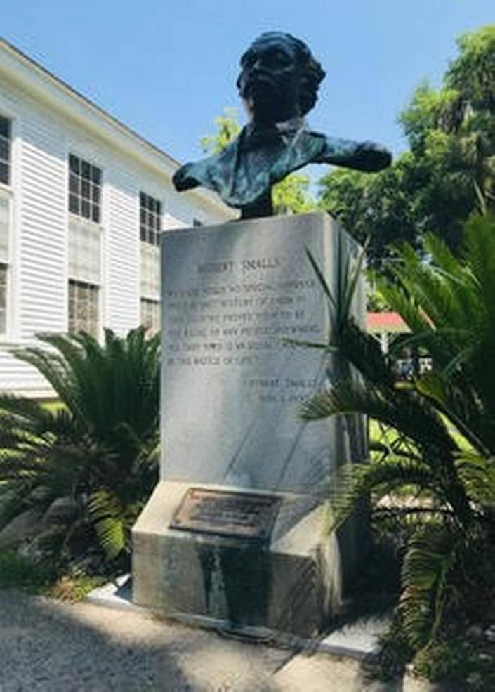 Beaufort's son of war and freedom: Robert Smalls was born a slave and served as a skilled ship pilot. On May 13, 1862, during the Civil War, he commandeered the Confederate ship Stono and used it to free himself, his crew and all of their families. Smalls went on to serve in the Union Navy and after the war became a businessman, politician and advocate for equal rights. His monument stands on the grounds of Tabernacle Baptist Church in Beaufort, where he is buried.