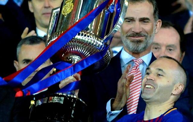 Having already lifted the Copa del Rey, Barcelona can win La Liga this weekend in what is likely to be Andres Iniesta's last season with the Catalan giants