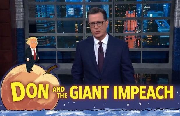 Colbert on Trump's Refusal to Cooperate With Impeachment Inquiry: 'He Has Developed Phone Spurs'