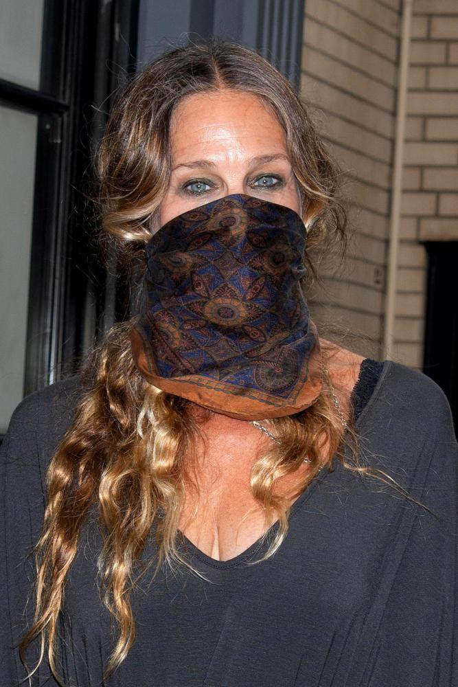 Sarah Jessica Parker at SJP Collection Boutique, New York.