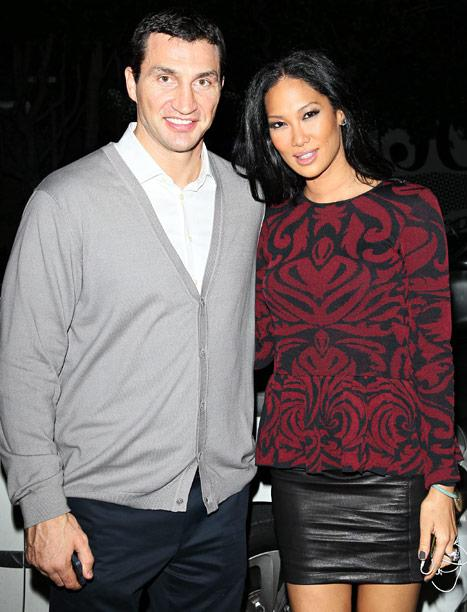 Newly Single Kimora Lee Simons Spotted With Wladimir Klitchsko