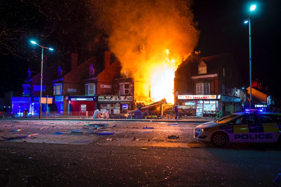 <em>Four people were killed in an explosion at a shop in Leicester (SWNS)</em>