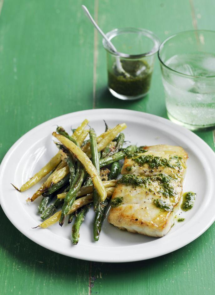 """<p>Freshen up your dinner repertoire with pan-seared fish and pesto.</p><p><em><a href=""""https://www.womansday.com/food-recipes/food-drinks/recipes/a55777/cod-with-crispy-green-beans-recipe/"""" rel=""""nofollow noopener"""" target=""""_blank"""" data-ylk=""""slk:Get the Cod with Crispy Green Beans recipe."""" class=""""link rapid-noclick-resp"""">Get the Cod with Crispy Green Beans recipe.</a></em></p><p><strong>What You'll Need</strong>: <a href=""""https://www.amazon.com/T-fal-Saute-Cooker-Dishwasher-Nonstick/dp/B000EM9PTQ/"""" rel=""""nofollow noopener"""" target=""""_blank"""" data-ylk=""""slk:Large skillet"""" class=""""link rapid-noclick-resp"""">Large skillet </a>($33, Amazon)</p>"""