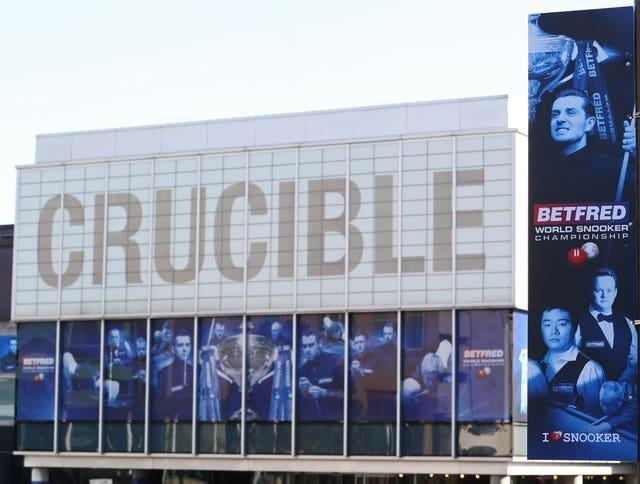 The Crucible Theatre hopes to welcome a capacity crowd for the final of the World Snooker Championship