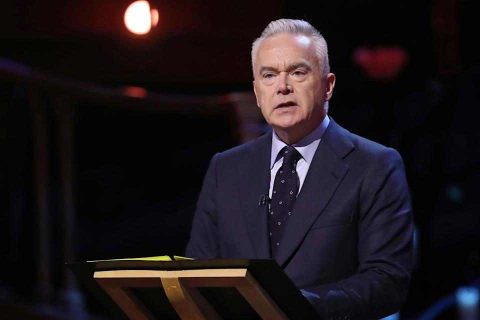 Huw Edwards has been one of the main faces of news coverage on the BBC for more than 20 years. (Chris Jackson/Pool/AFP)
