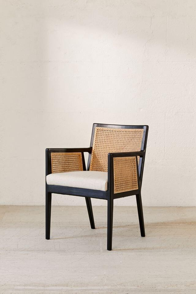 Urban Outfitters Cane Chair
