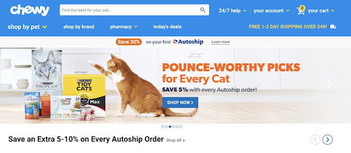 Chewy, an online pet supply retailer, went public in June—but its shares have yet to recover to its opening price.