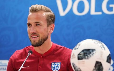 Harry Kane says he is ready to prove his talent on the world stage - Credit: Getty