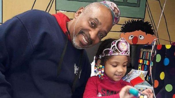 PHOTO: Oswaldo Ortiz, who received a Bags for Dads from Fathers' UpLift, poses with his daughter. (Fathers' UpLift)