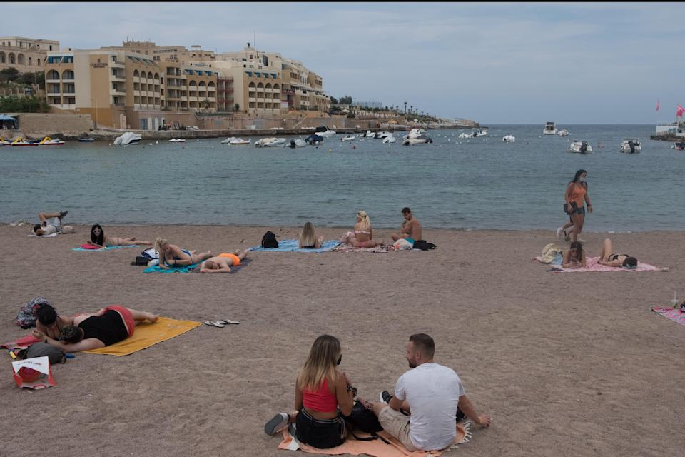 Holiday disarray: Malta refuses to accept NHS app as vaccination proof (Getty Images)