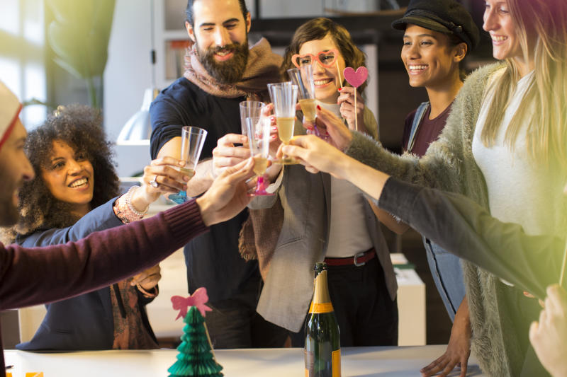 Office Christmas party etiquette can be difficult to master. [Photo: Getty]