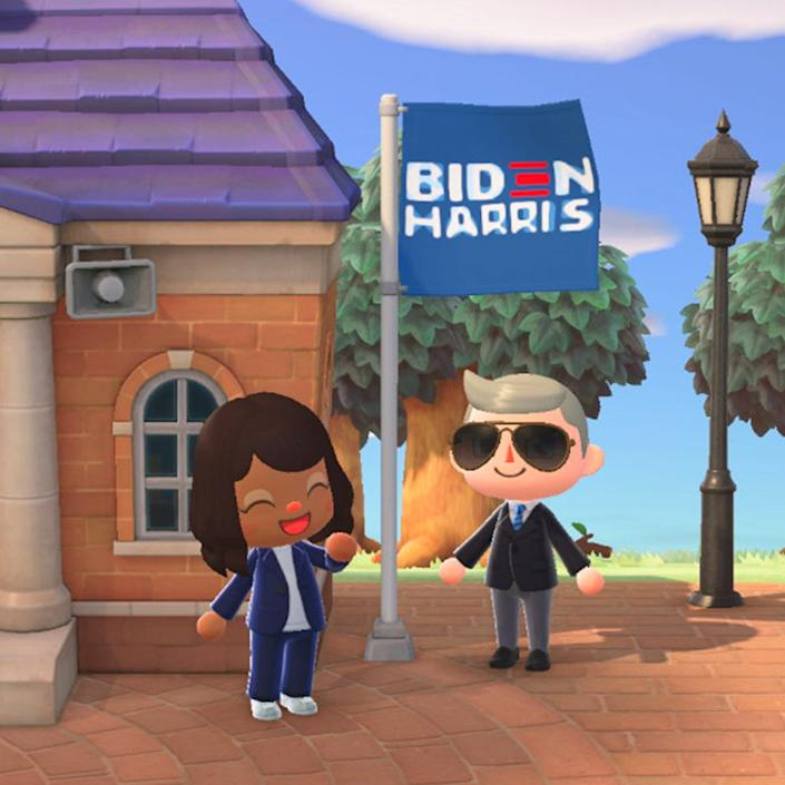 Animal Crossing: New Horizons (Biden-Harris campain)