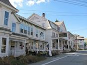 """<p>The antique-lover's jewel in this postcard-perfect New England town is the 20,000-square-foot <a href=""""http://stonehouseantiquecenter.com/"""" rel=""""nofollow noopener"""" target=""""_blank"""" data-ylk=""""slk:Stone House Antique Center"""" class=""""link rapid-noclick-resp"""">Stone House Antique Center</a>. Though smaller, <a href=""""http://www.gbvt.com/"""" rel=""""nofollow noopener"""" target=""""_blank"""" data-ylk=""""slk:Yankee Ingenuity Antiques"""" class=""""link rapid-noclick-resp"""">Yankee Ingenuity Antiques</a> is also worth a peek for its array of vintage hardware and cast iron cookware (among other very Vermont things).</p>"""
