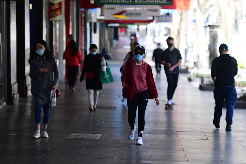 Melburnians are becoming increasingly frustrated with a lack of clarity over the city's exit from Stage 4 restrictions. Source: AAP