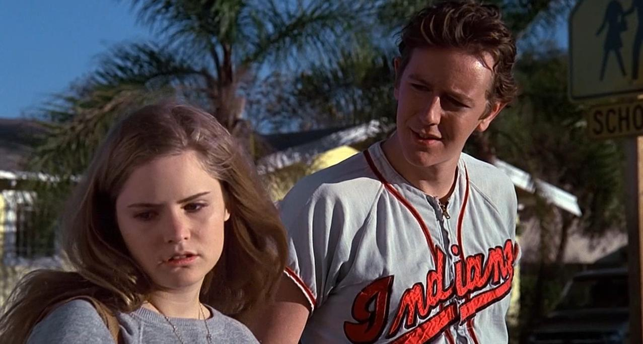 Jennifer Jason Leigh at Stacy and Judge Reinhold as her sympathetic older brother Brad in 'Fast Times at Ridgemont High.' (Photo: Universal Pictures)