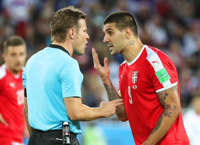 World Cup 2018: Serbia file official complaint against referee after Switzerland penalty controversy