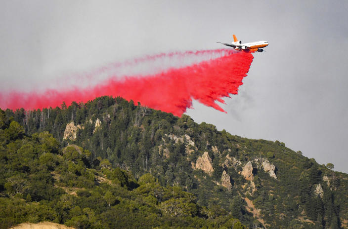Image: Grizzly Creek Fire (Chelsea Self / Glenwood Springs Post Independent via AP)