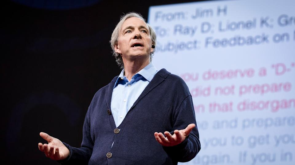 Ray Dalio speaks at TED2017 - The Future You, April 24-28, 2017, Vancouver, BC, Canada.