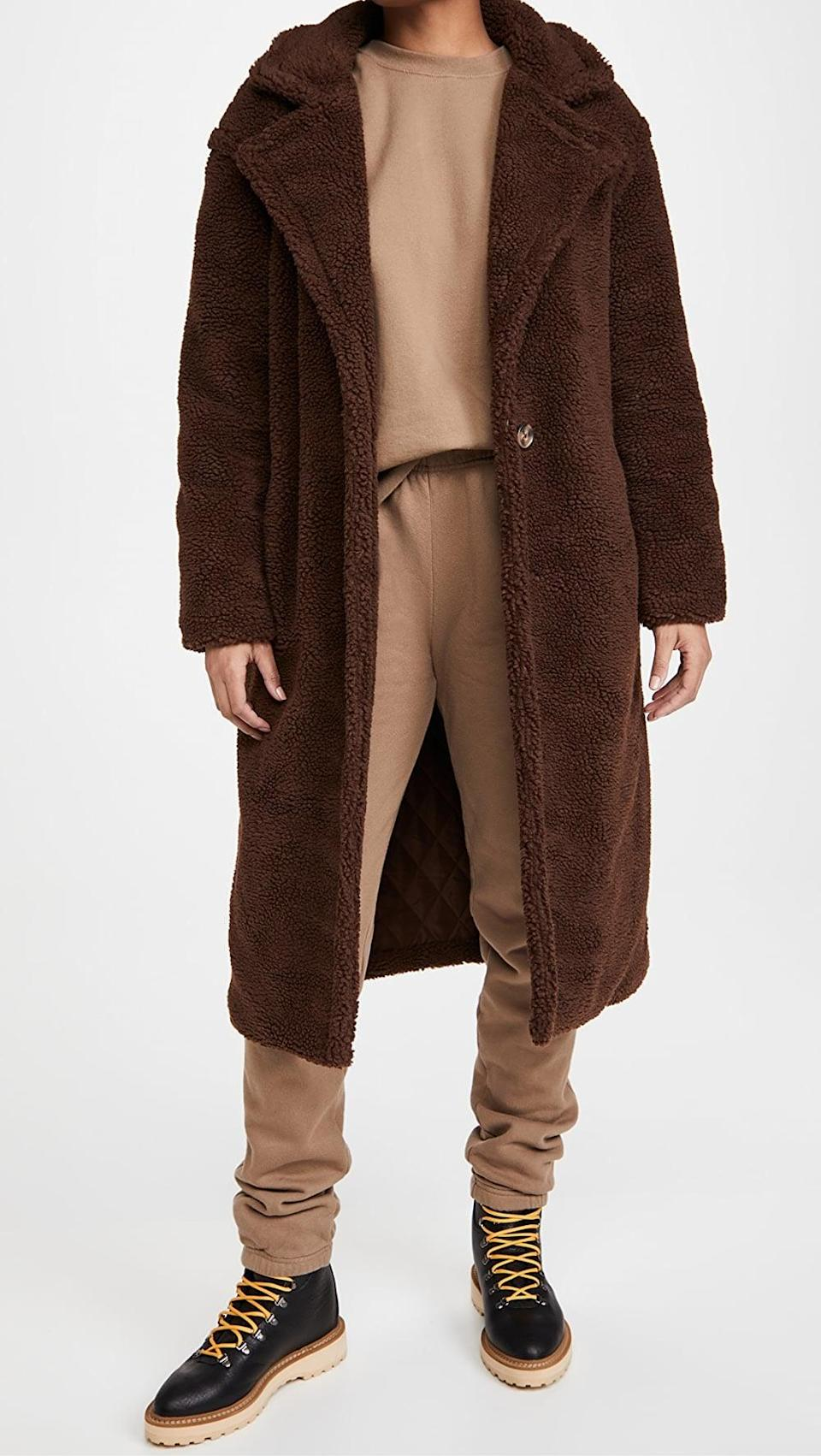 <p>Get all wrapped up for winter in this <span>BB Dakota Paddington Coat</span> ($159).</p>