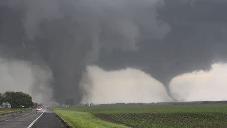 Two tornadoes touch down near Pilger Nebraska